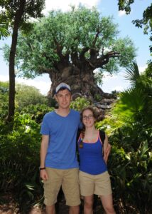 Ethan and I at the Tree of Life