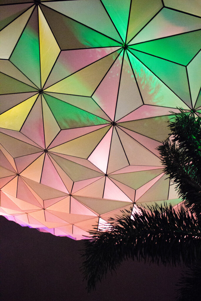 Spaceship Earth Close-up
