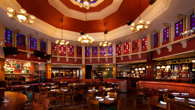 This is the inside of Raglan Road... seriously eat here! (picture from WDW website)