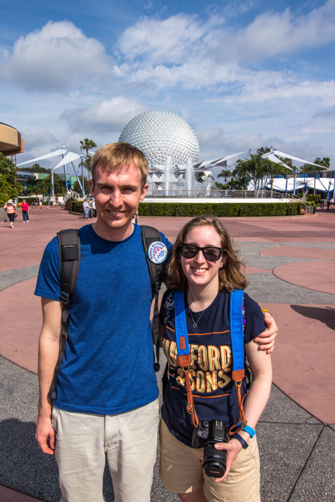 this time last year, we were in Epcot!
