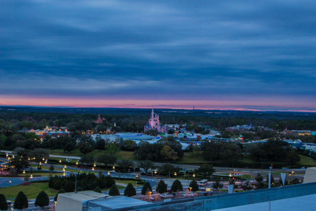 A Look Over Magic Kingdom