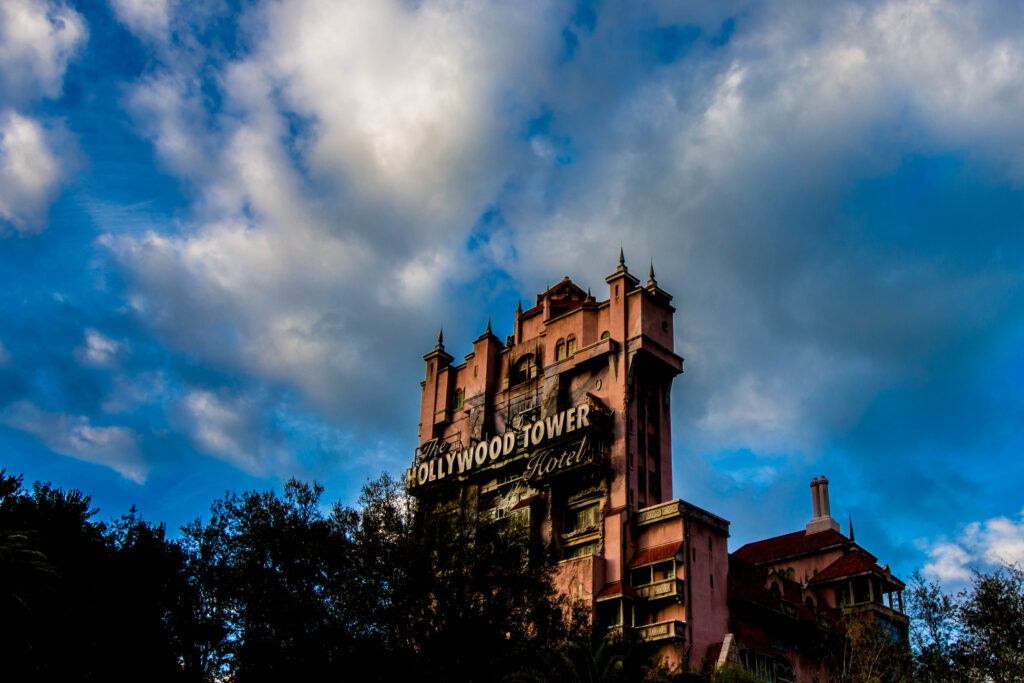 Distant Tower of Terror