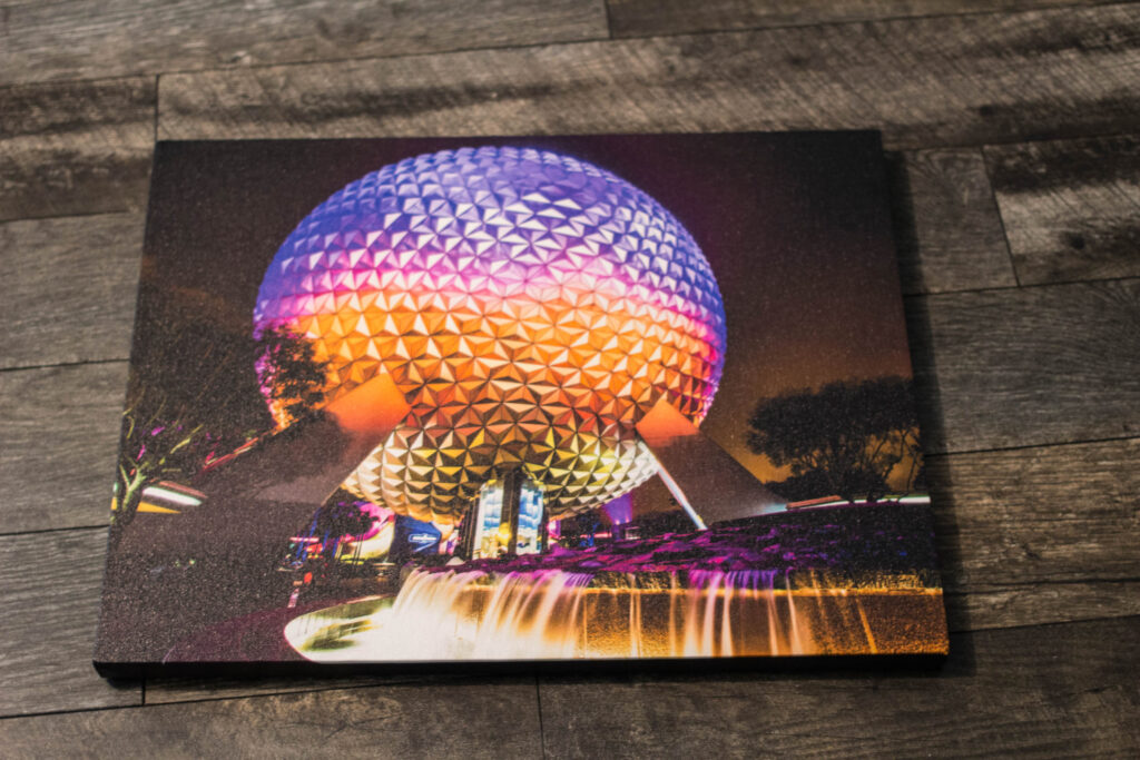 Spaceship Earth on Canvas