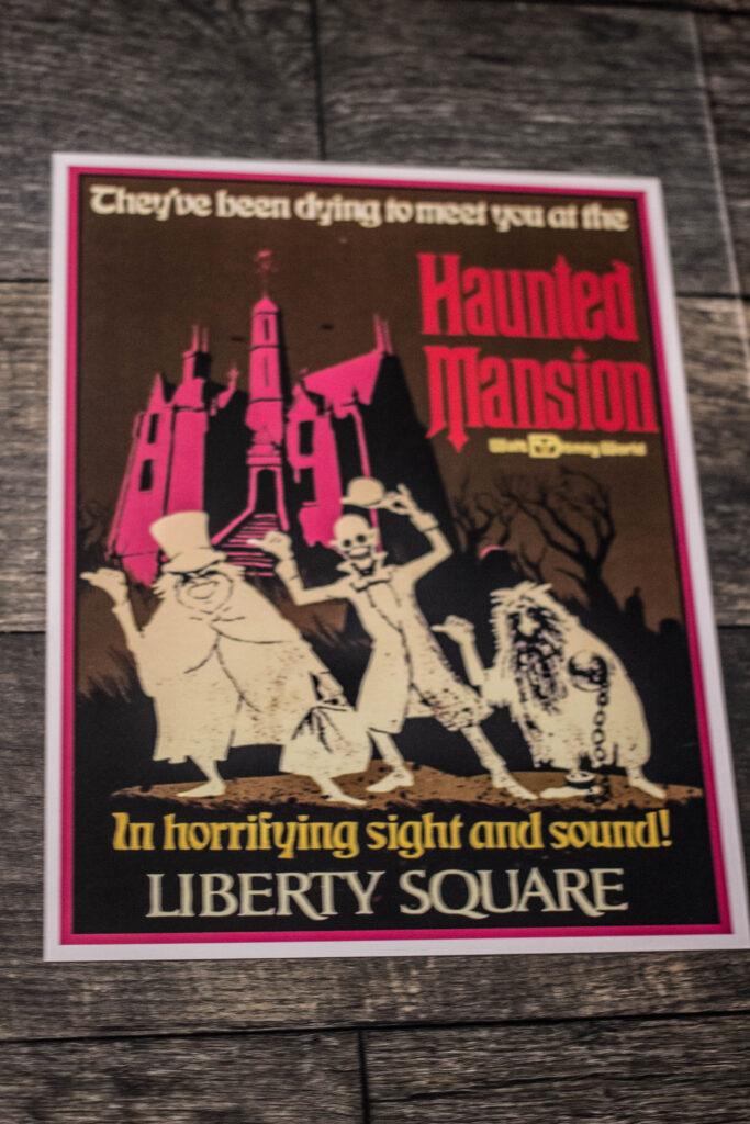Haunted Mansion Print