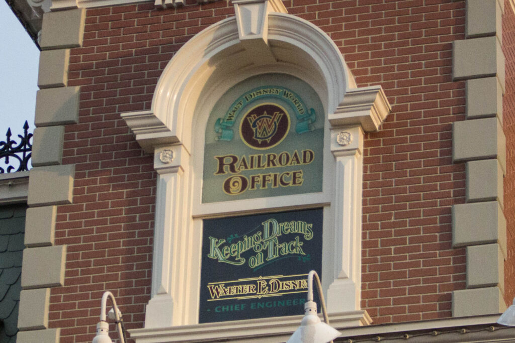 This detail can be seen before you enter Magic Kingdom