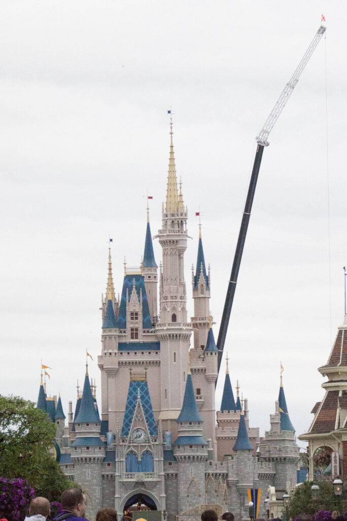 This is about as good of a picture of the castle I got on my last trip!