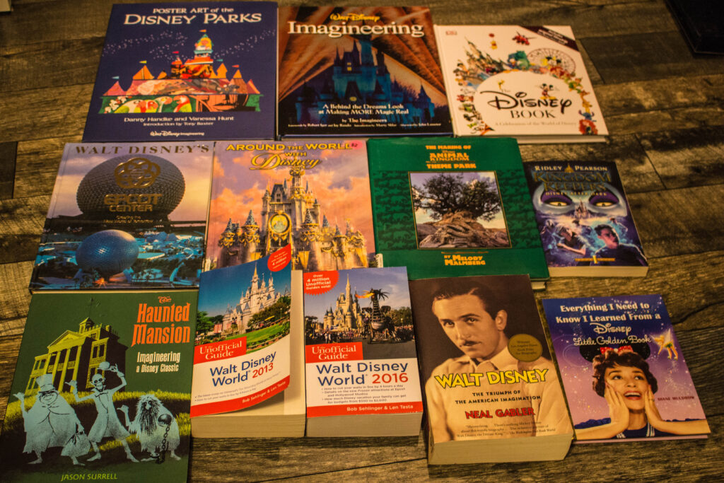 My Disney Book Collection