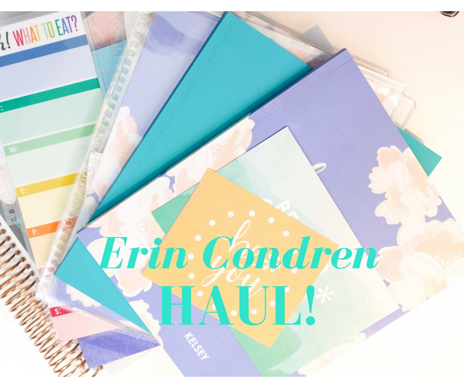 Erin Condren Haul!