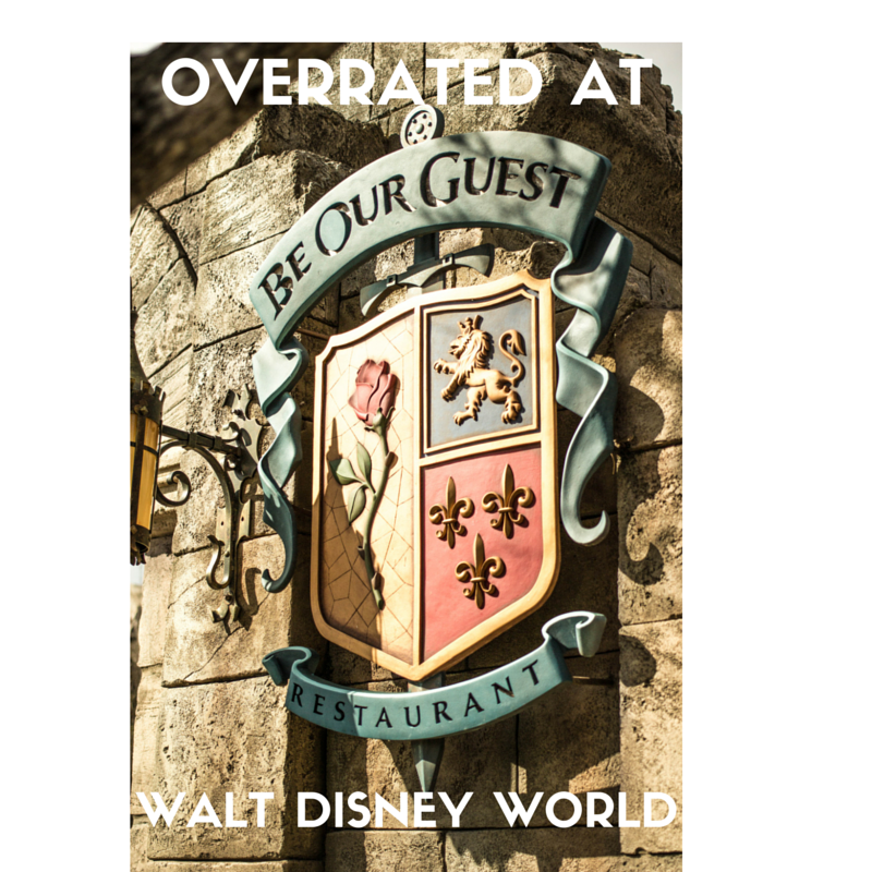 Overrated at WDW