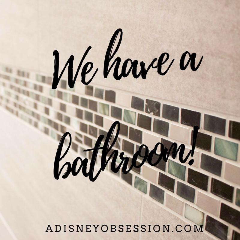 we have a bathroom