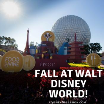 fall at walt disney world