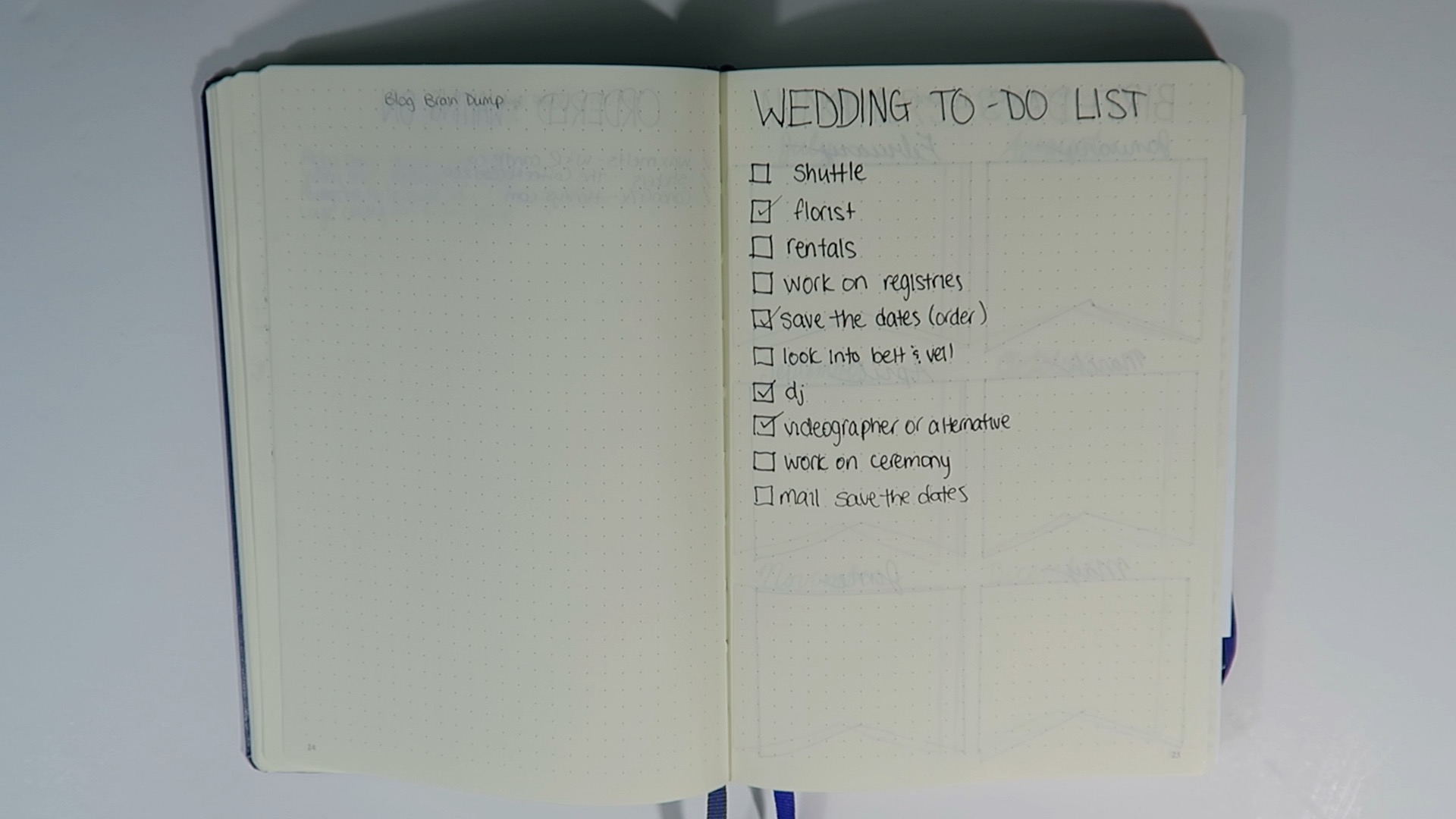 my bullet journal