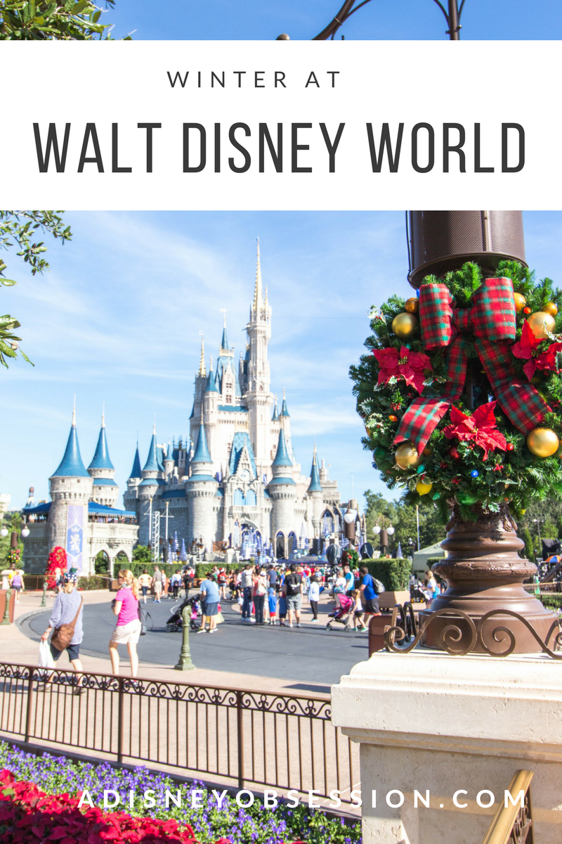 Winter at Walt Disney World