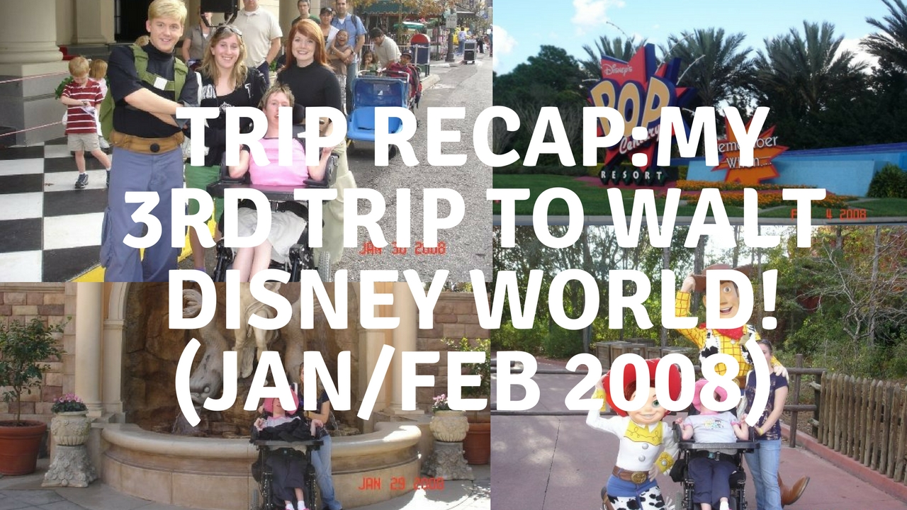 My third trip to Walt Disney World