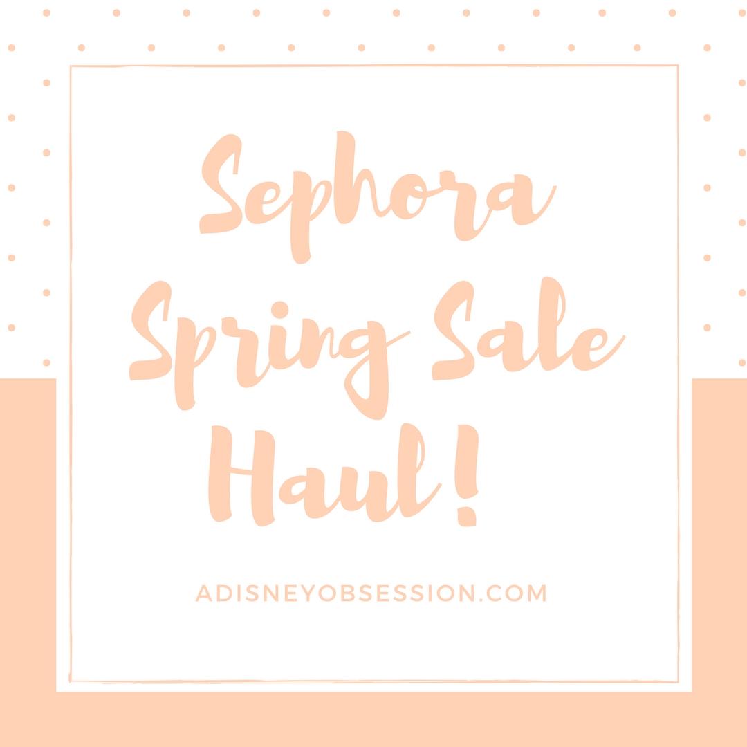 Sephora Spring Sale 2018