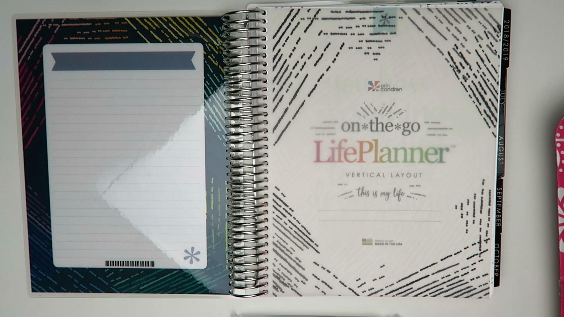 Erin Condren Life Planner Haul