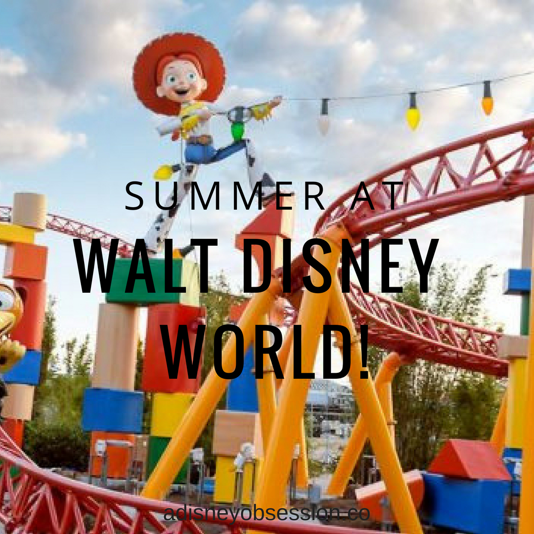 Summer at Walt Disney World