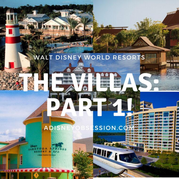 the villas at walt Disney world
