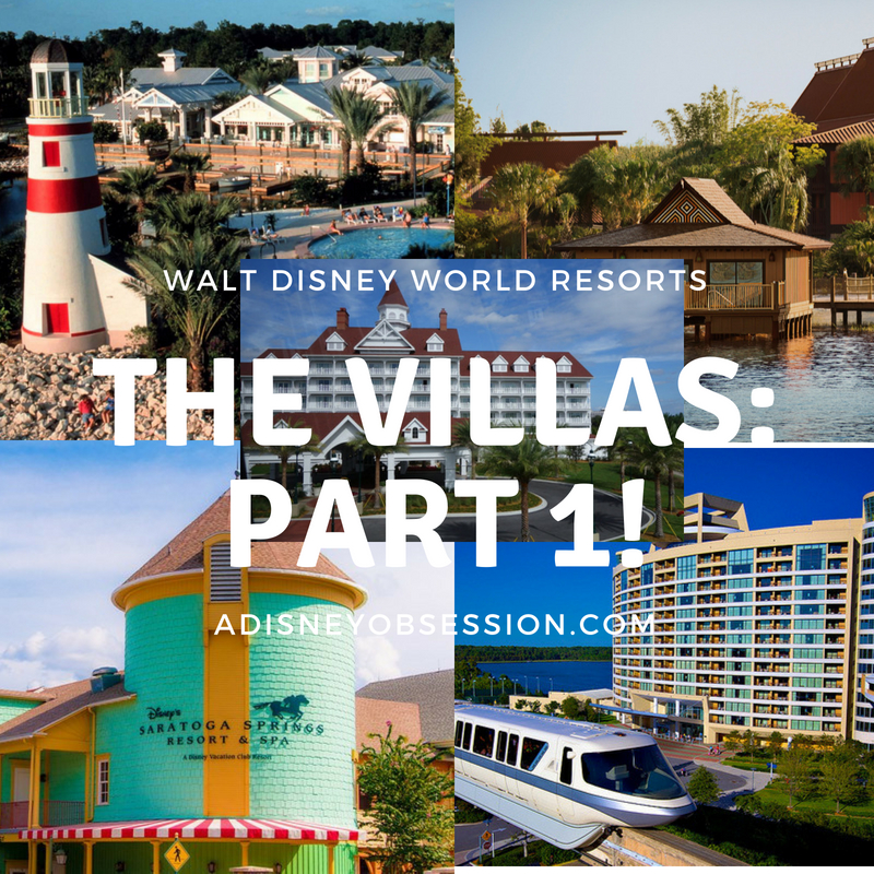 the villas at walt Disney world