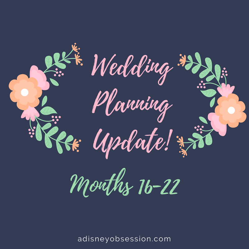 wedding planning update