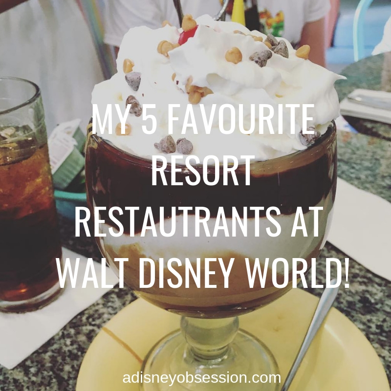 My 5 Favourite Resort Restaurants at Walt Disney World