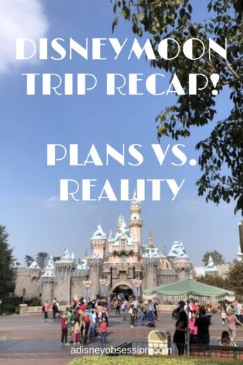 disneymoon, disneymoon trip recap, trip recap
