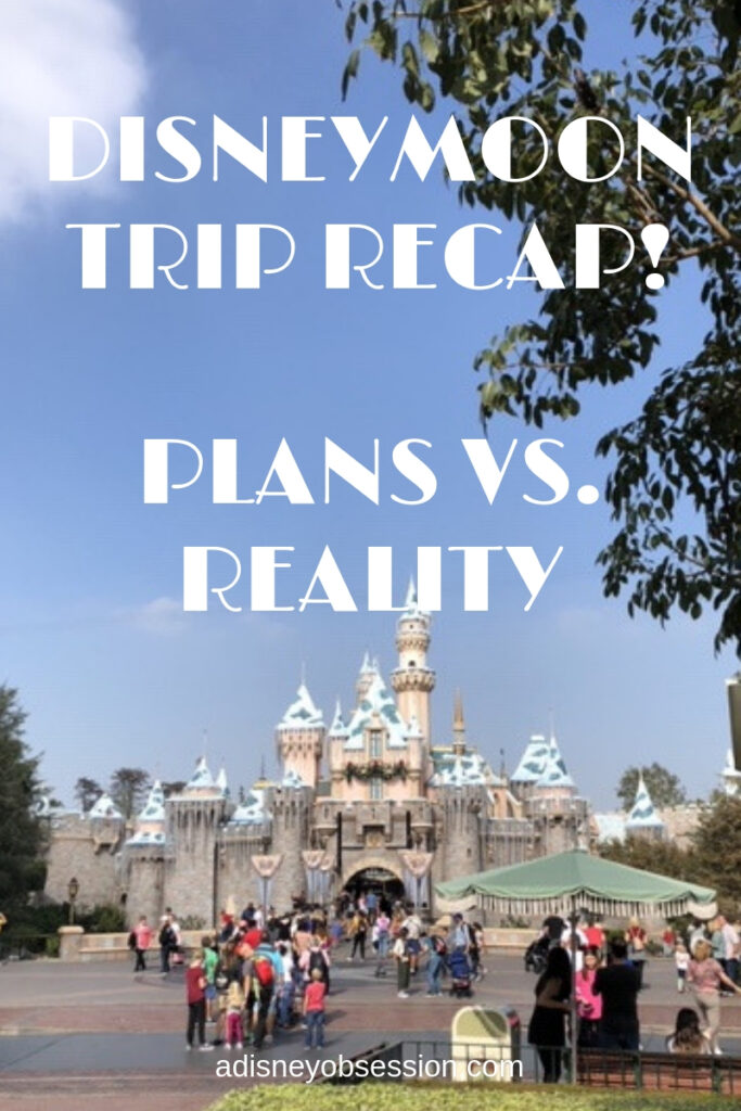 disneymoon, disneymoon trip recap, trip recap