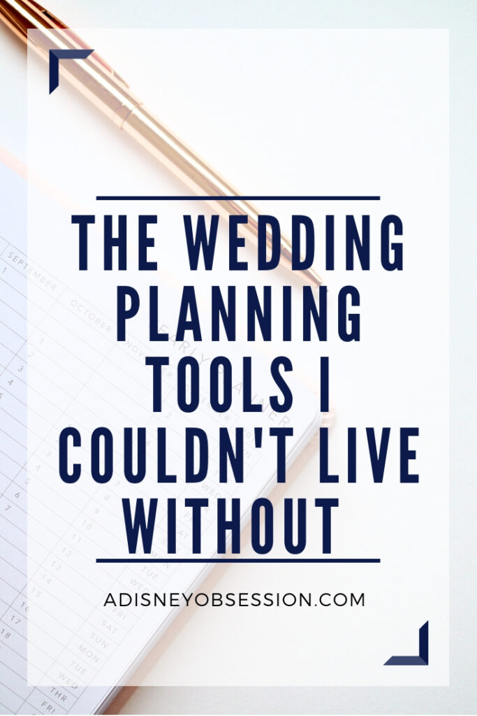 wedding planning, wedding planning tips, wedding planning tools, wedding planner, wedding, bride, organized bride, planning a wedding, a Disney Obsession