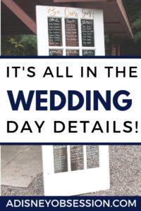 it's all in the wedding details, wedding diy, city wedding, a Disney Obsession, wedding, wedding blog post, a Disney Obsession wedding, DIY post, a Disney Obsession blog,