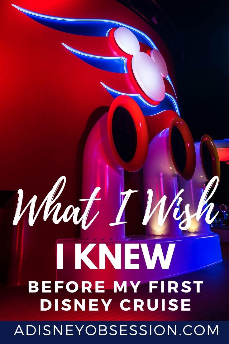 what I wish I knew before my first disney cruise