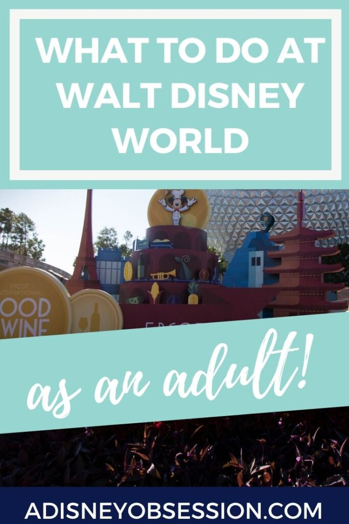 Walt Disney World as an adult