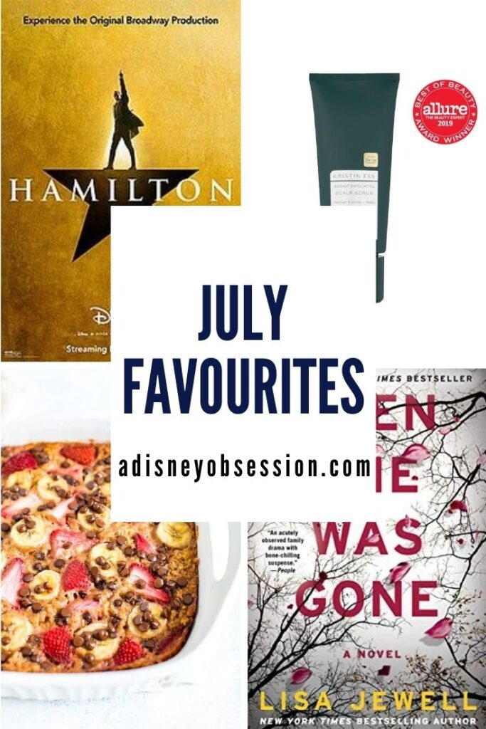 monthly favourites July 2020