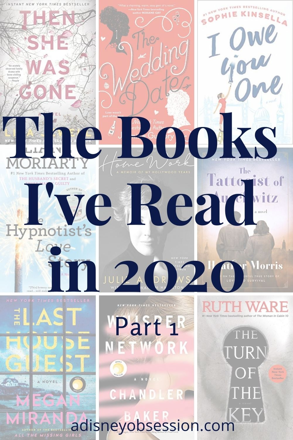 The Books I've Read in 2020 Part 1